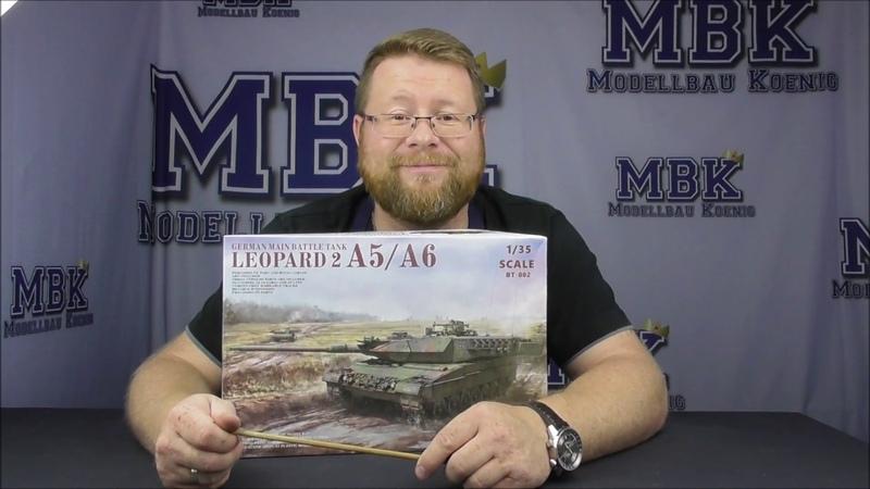 MBK packt aus 179 - 1:35 Leopard 2 A5 / A6 (Border Model BT-002)