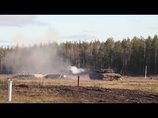 Экзамен по боевой подготовке уральских танкистов