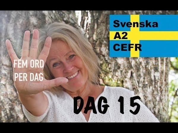 Lär dig svenska Dag 15 Fem ord per dag A2 CEFR Learn Swedish Mycket många 71 undertexter
