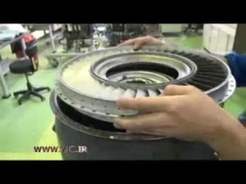 Iran national turbojet engine production