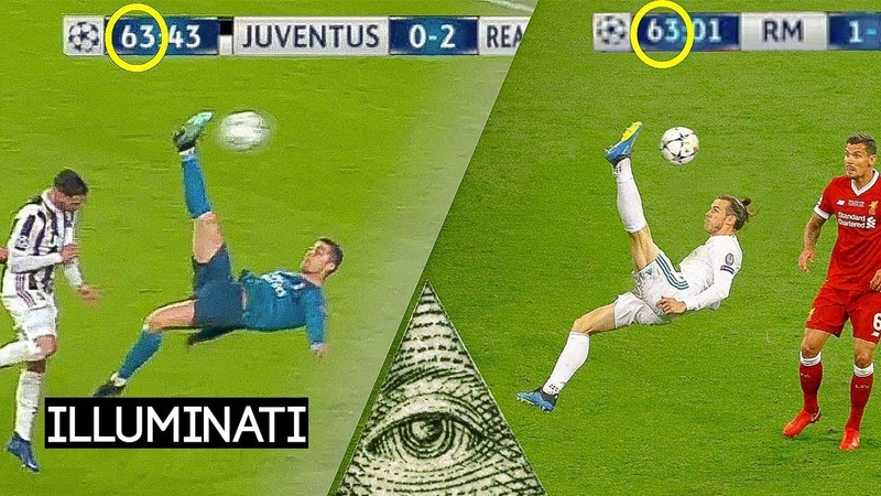Iluminati 10 Kejadian Tanpa Sadar di Sepak Bola Yang Sama Persis