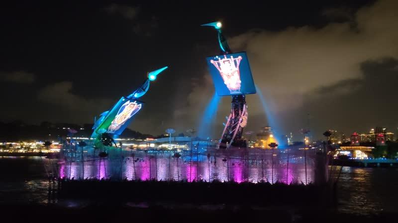 Сингапур о Сентоза шоу крылья любви