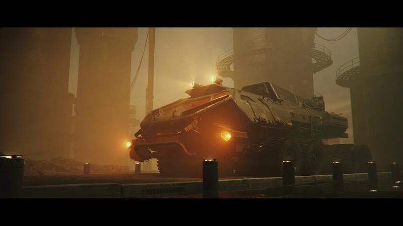 Sci-fi/hard surface. Maya, Redshift.