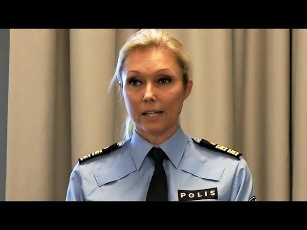 Polisen Med Globaliseringen öppna gränser medföljer ökad brottslighet YouTube