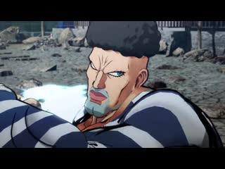 One punch man a hero nobody knows boros, puri-puri prisoner, snek, crablante character trailer