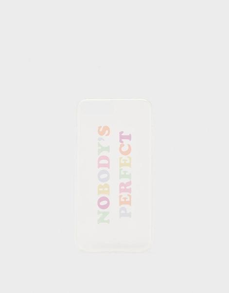 Чехол для iPhone 6Plus/7Plus/8Plus с надписью