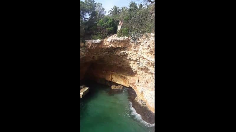 Cliffdiving on Mallorca😁