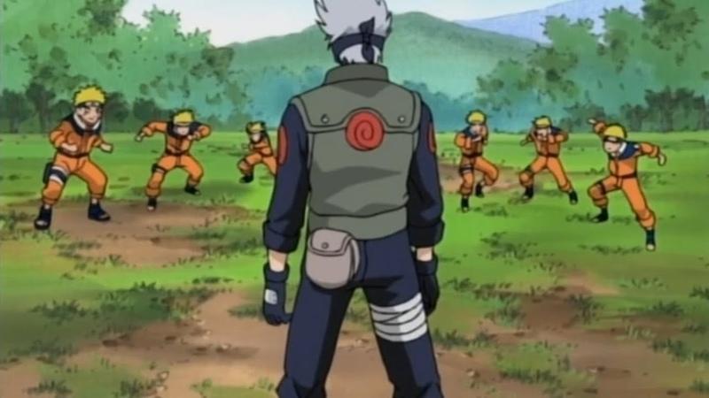 Наруто саске и сакура против Хатаке Какаши Битва за колокольчики