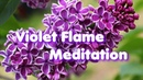 Violet Flame Meditation Energy Healing Space Music