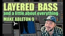 LAYERED BASS make for Ableton live 9