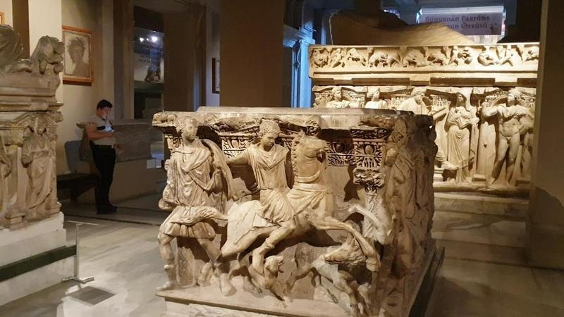 Лучше один раз увидеть. Археологический музей Стамбула. ч.2