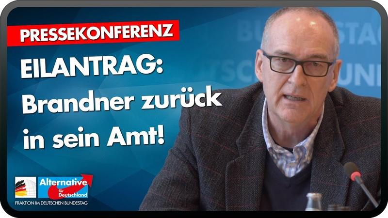 EILANTRAG: Brandner zurück ins Amt! Roman Reusch