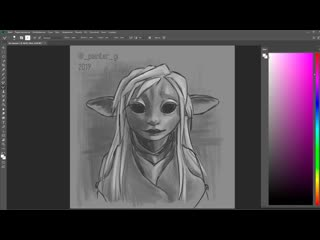 The dark crystal (speedpaint)