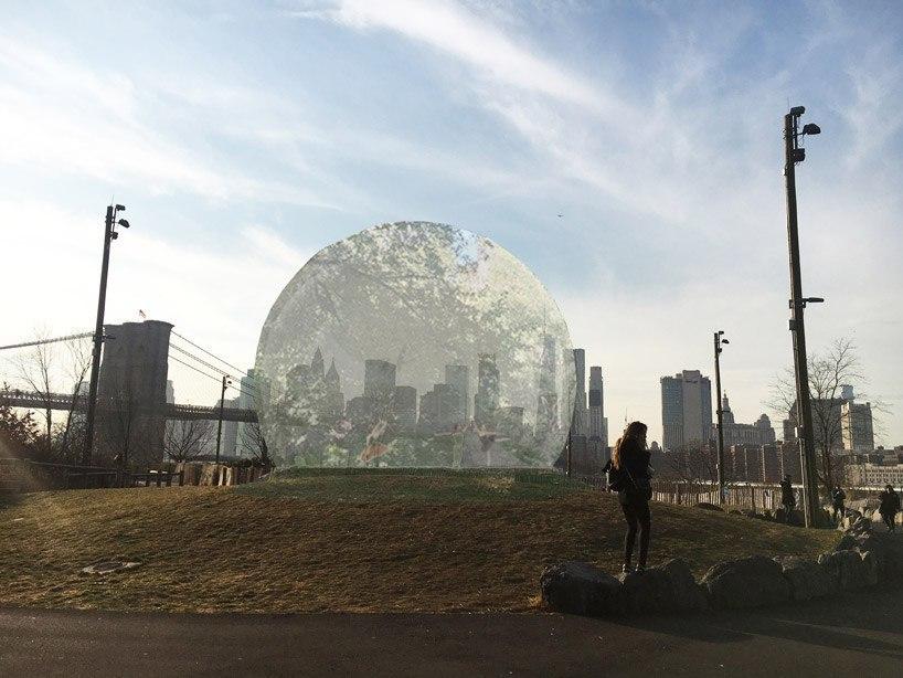 «Экологический пузырь»,  влиятельный проект, разработанный канадским архитектором  francois dallegret  в 1965 году, был воплощен в жизнь в 2017 году в городе Нью-Йорке .