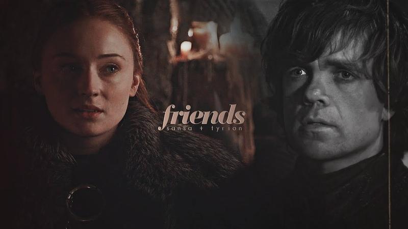 Sansa tyrion    friends [8x03]