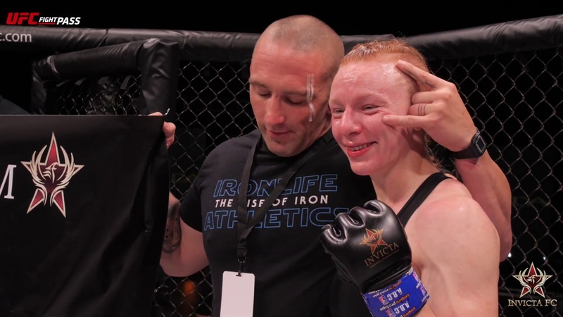 Invicta FC 36 Caitlin Sammons Post Fight Interview