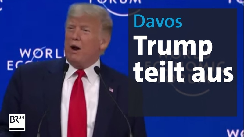 Klima Topthema in Davos - nur nicht für Trump | Rundschau | BR24