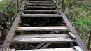 Аварийная лестница на подъёме в гору к Депутатской улице Город Вязники