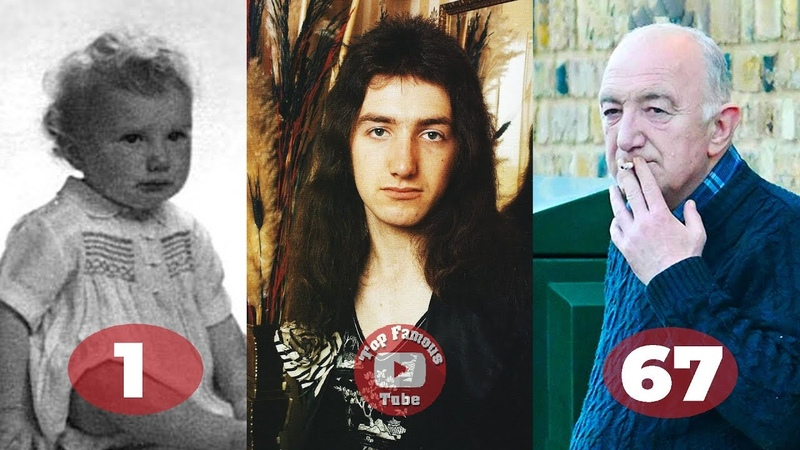 John Deacon | Transformation From 1 To 67 Years Old