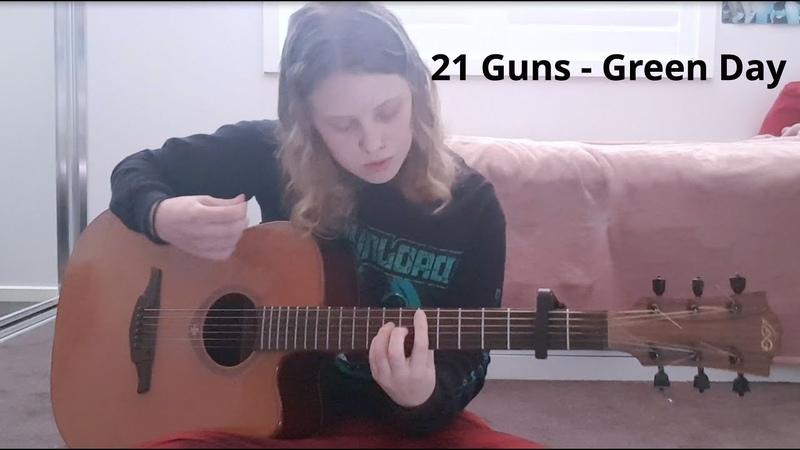 21 Guns Green Day Cover