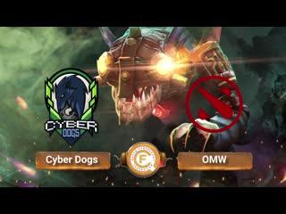 Cyber Dogs vs OMW