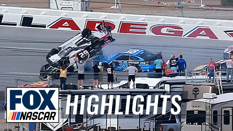 Playoff Race 5 — Talladega | NASCAR on FOX HIGHLIGHTS
