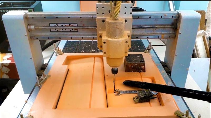 Крыло из пенопласта на станке с ЧПУ| Foam Wing carving on CNC router