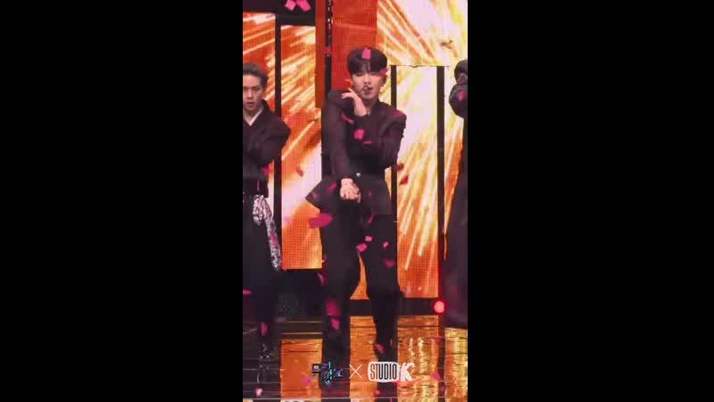 [VK][191108] fancam MONSTA X - Follow (Kihyun focus) @ Music Bank