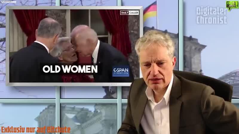 DigitalerChronist: Bitchute Exklusiv¡ Präsidentschaftskandidat Joe Biden, verhält sich komplett unangemessen