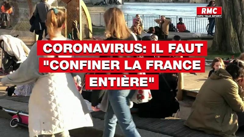 Coronavirus il faut confiner la France entière affirme Eric Caumes