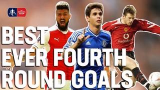 Best EVER Fourth Round Goals 🔥 De Bruyne, Firmino, Giroud, Oscar, Rooney   Emirates FA Cup