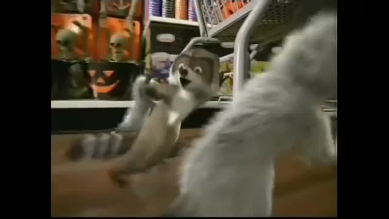 Лесная братва Walmart Over the Hedge DVD 2006 TV Spot