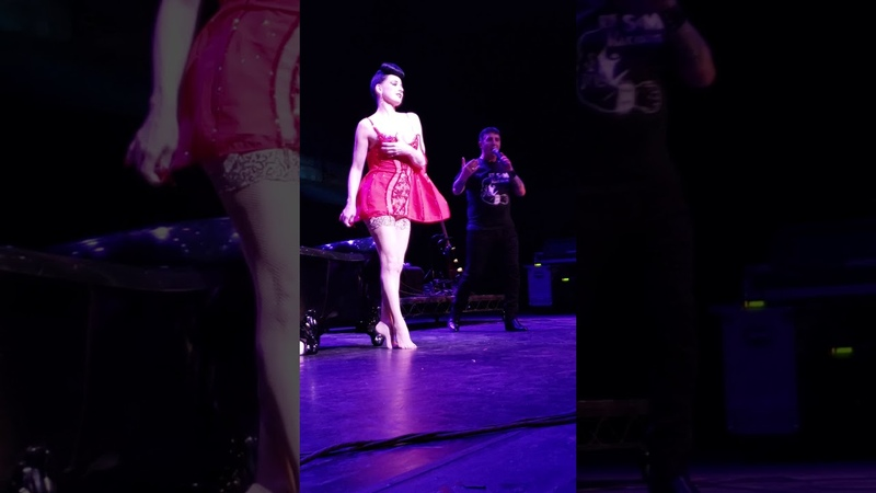 Dita Von Teese with Marc Almond at The Palace 2019