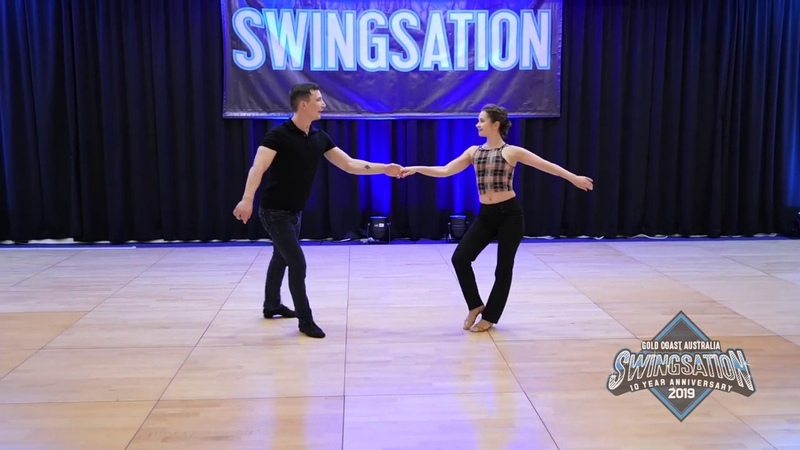 Swingsation 2019 Semion Ovsiannikov Maria Elizarova Lead Follow Performance