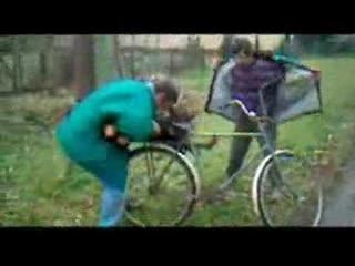 transport souche par 2 ivrognes