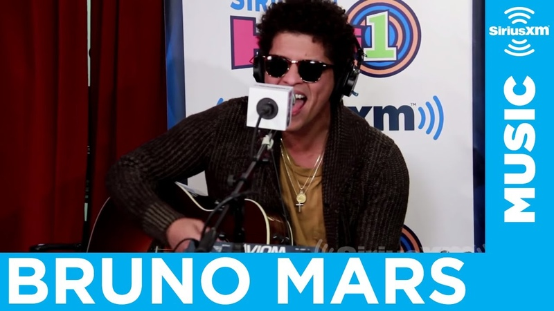 Bruno Mars - Locked Out Of Heaven [Live @ SiriusXM]
