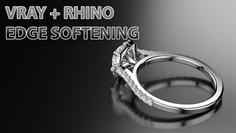 Edge softening with Vray Rhino