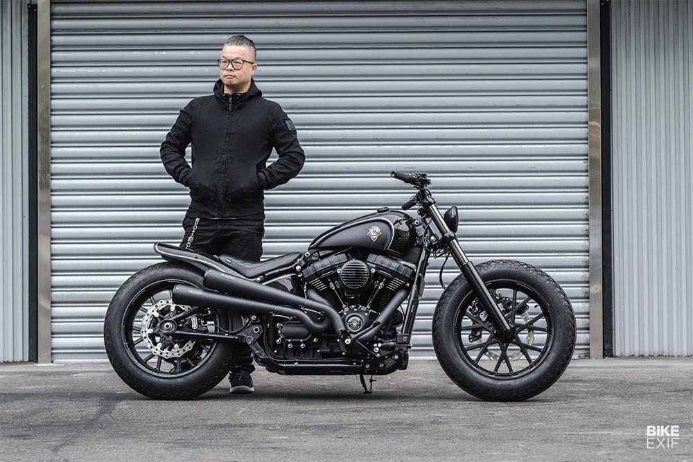 Rough Crafts: кастом Harley-Davidson Thunder Chaser