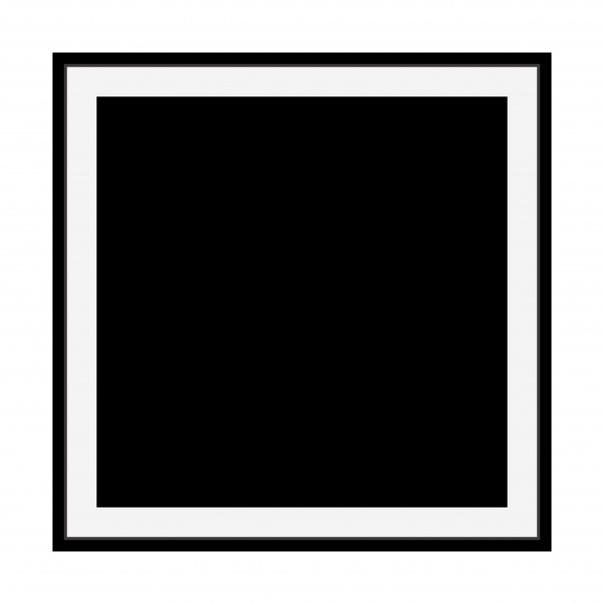 transparent black square - HD1920×1920
