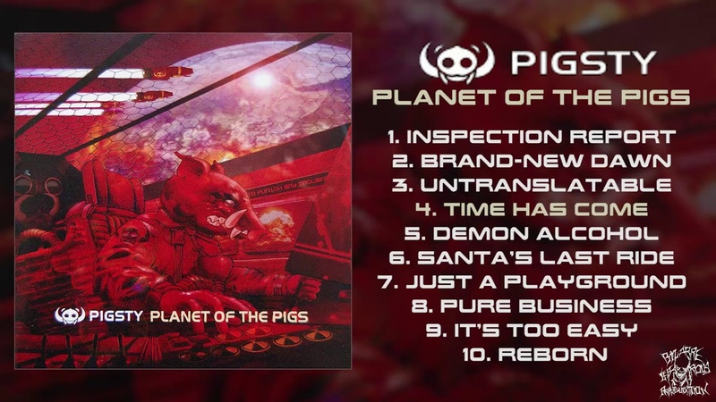 Pigsty Planet of the Pigs FULL ALBUM 2009 Deathgrind