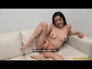 Rae Lil Black - Asian babe fucked on the couch