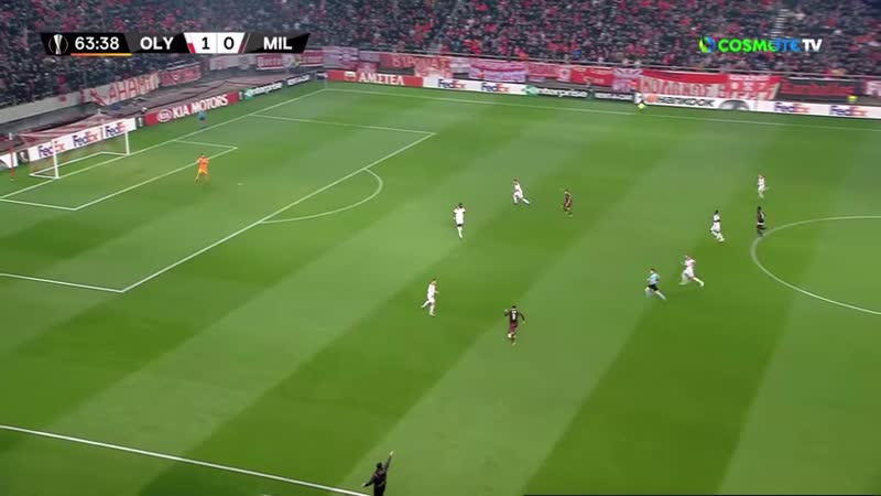 Highlights Olympiacos - AC Milan 3-1