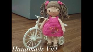 Hướng dẫn móc búp bê phần Zoe (Phần 2) - How to crochet a cute doll (part 2)