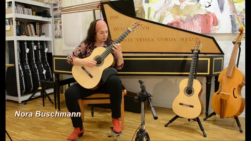 Nora Buschmann Manuel de Falla on a 2020 Batell guitar