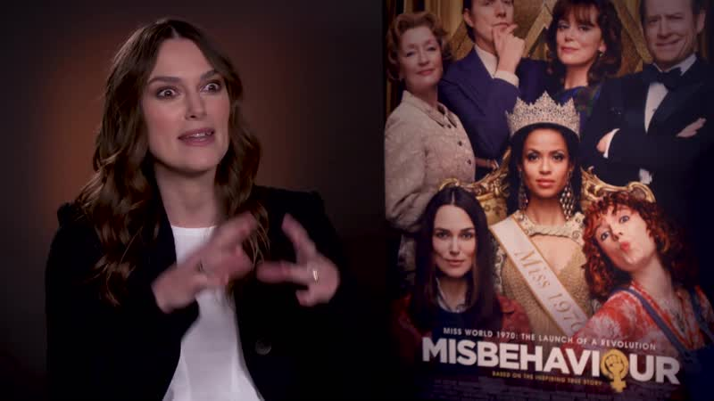 Misbehaviour interview Keira Knightley on the timely nature of the 1970 set film1