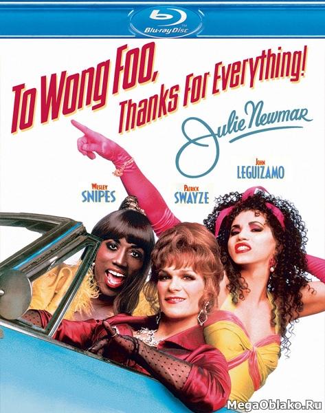 Вонг Фу, с благодарностью за всё! Джули Ньюмар / To Wong Foo Thanks for Everything, Julie Newmar (1995/BDRip/HDRip)