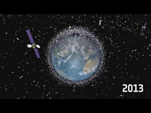 Гиперболоид против космического мусора science