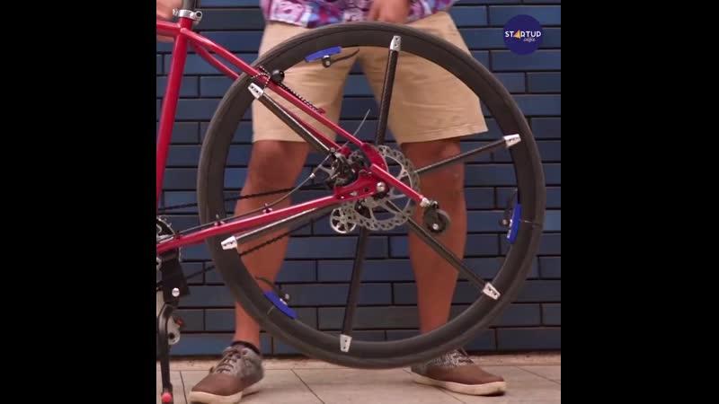 Tuck Bike велосипед со складными колесами