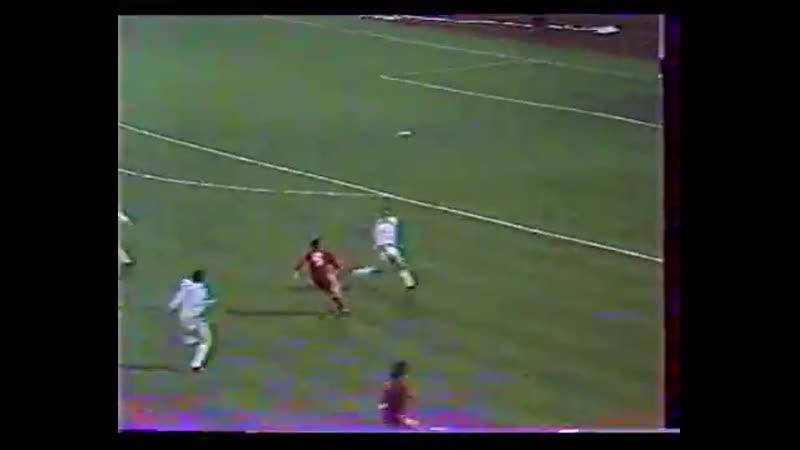 Videoton Partizan Beograd 50 1984 teljes meccs az eredeti Gulyas kommentarral 360p