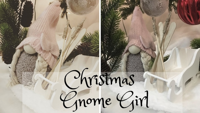 GNOME GIRL DIY Niña Gnomo